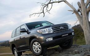 Toyota, Land, Cruiser, Land Cruiser, SUV, Car, wallpaper, Australian version, Japan, toyota
