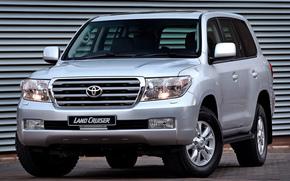 Toyota, Prestare, Incrociatore, SUV, camionetta, kruzak, grigio, Auto, carta da parati, Giappone, Toyota