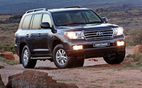 Toyota, Land, Cruiser, Land Cruiser, SUV, jeep, wallpaper, Japan, toyota