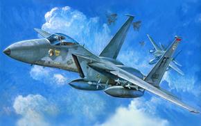 f -15c, истребитель, арт