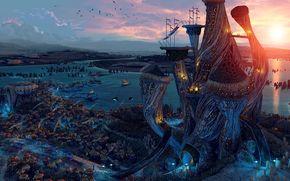 The Elder Scrolls V, Ciudad, juego