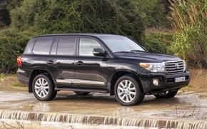 Toyota, Land, Cruiser, Land Cruiser, wheelbarrow, SUV, jeep, wallpaper, toyota