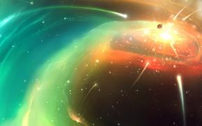 esplosione, creazione, nuova stella