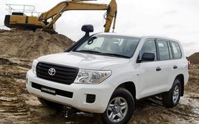 Toyota, Land, Cruiser, DzhiIks, car, Car, wallpaper, SUV, Turbo, diesel, Australian version, Japan, toyota