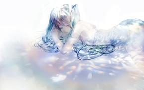 Hatsune Miku, Vocaloid, reflections, tenderness
