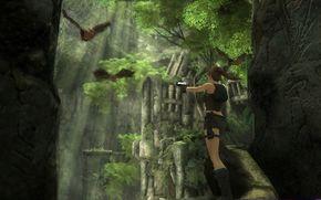 Lara Croft, Mouse, Guns