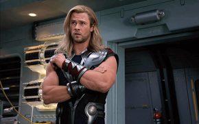 The Avengers, Top, Chris Hemsworth, god of thunder
