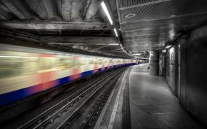 city, metro, train