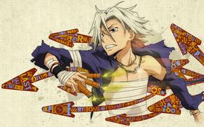 teacher mafia Reborn!, gokudera Hayato, Vectors, dynamite, Art