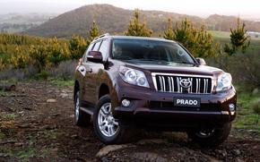 Toyota, Land, Cruiser, Prado, TLC Prado, Land Cruiser, Car, wallpaper, Australian version, Australia, Japan, toyota
