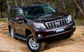 Toyota, Wypoycza, Krownik, Prado, TLC Prado, Samochd, tapeta, Australia, Japonia, Australijska wersja, SUV, jeep, Toyota