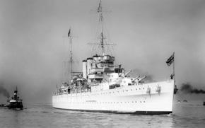 cruiser, England, retro, white, tugs