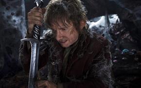 Hobbit, film, Andata e ritorno, Il Signore degli Anelli, Tolkien, spada, arma, Bilbo, Baggins, un viaggio inaspettato