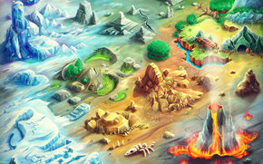 game, sungiftgames, itunes, Apple, iphone games 2012, dino rocks