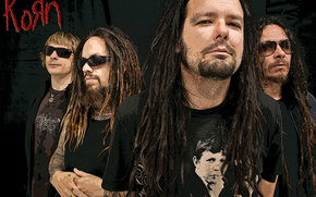Korn, Jonathan Davis, Ray Luze, James Shaffer, Redzhinald Arvizu, people, dreadlocks, Musicians, group, rock, Piercing