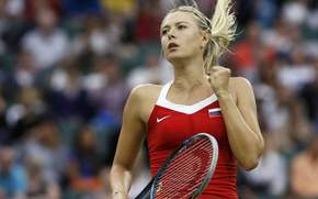 Maria Sharapova, photo, game, tennis