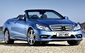 car, wallpaper, Mercedes, benzo, e-Class, Blue, Sport, AMG, Beautiful, machine, mercedes