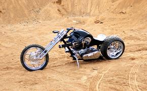 nero, Bicicletta, Mannaia, Ruota, Unit, forcella, cromo, Sintonia, pistola, deserto, sabbia, motocicli