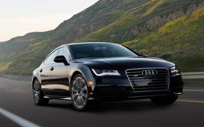 черный авто, Audi