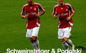 Bayern, Podolski, Schweinsteiger