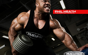 phil heath, фил хит, мистер олимпия, 2012, 2011, красавчик, бодибилдинг, красивый, бицепс, пресс, мышцы, грудь