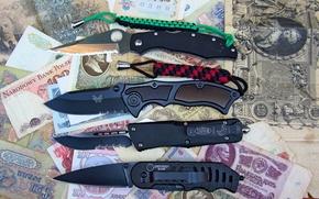 Coltelli, soldi, coltello, NAVY, bencmade, Microtech, polizia