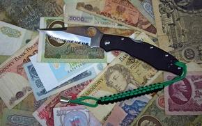 coltello, soldi, coltello, NAVY, K631S