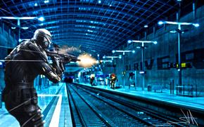nanosuit, camp, metro, automatic