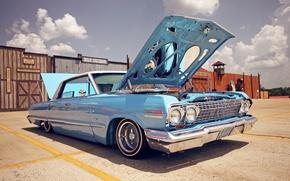 Carro, carros, lowrider, maquinaria, Chevrolet Impala