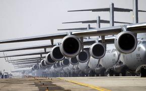 самолёты, аэродром, авиация