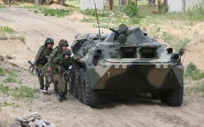 BTR, Infanterie, bohren
