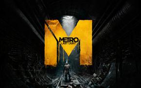 metro last light, Tunnel, stalker