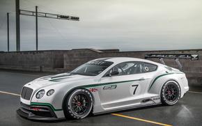 Bentley, Continental, GT3, Concepto, coches, Maquinaria, Coche