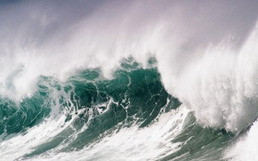 nature, ocean, Wave, water
