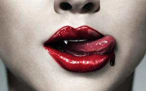 True Blood, Vampires, blood