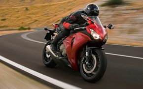 honda, CBR1000rr, cbr, motorcycle, road, motorcyclist, helmet, rate, cars, machinery, Car