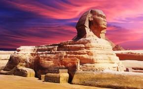 Egypt, sphinx, Attraction, sculpture
