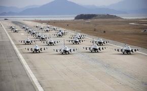 самолёты, аэродром, оружие