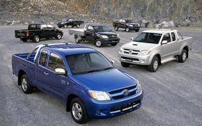 Тойота, Хайлакс, Пикап, Машина, Тачка, Внедорожник, Япония, Toyota