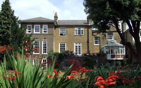 architecture, Style, conception, extrieur, maison, villa, jardin