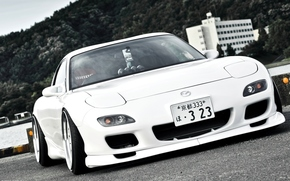 car, wallpaper, White, Mazda, Tuning, Japan, Beautiful, machine, Mazda
