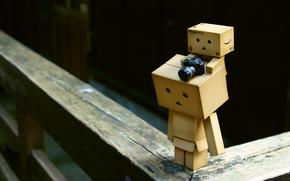 box, Camera, little man, baby