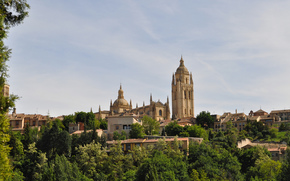 Segovia, Spain, Cathedral