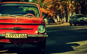 Cosacco, rosso, vecchio, retr, classico, Altri marchi