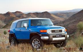 Toyota, EfDzhey, Cruiser, Land Cruiser, jeep, SUV, Japan, Australian version, Australia, wallpaper, machine, wheelbarrow, toyota