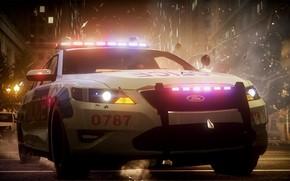 polizia, inseguimento, gara, esplosione, detriti