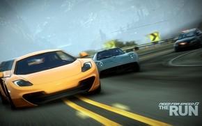 supercar, polizia, inseguimento, gara, girare, velocit
