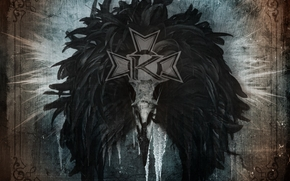 kamelot, metal, silverthorn, ворон, клюв, логотип