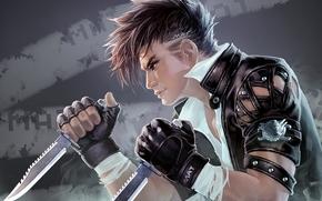 Warrior, Knives, fighter