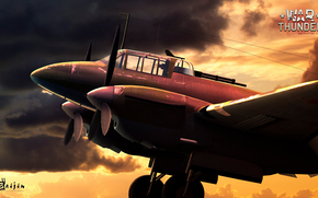 игры, самолеты, war thunder